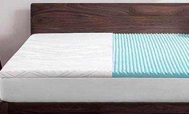 5Bedsure Topper Queen - Pressure Alleviation Mattress Pad