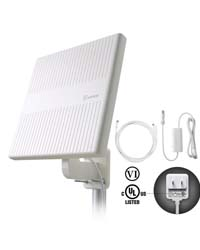 ANTOP Outdoor TV Antenna, 360° Omnidirectional HDTV Antenna