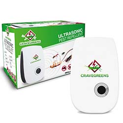 Cravegreens Dual Microchip Ultrasonic Pest Repeller
