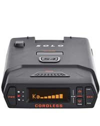 Escort Solo S4 Radar Detector - Cordless, Escort Live Crowd Sourcing