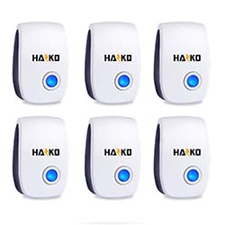 HAZKO Ultrasonic Pest Repellent 6 Packs