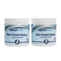 Rain Forest Epoxy - Commercial Grade Crystal Clear Epoxy