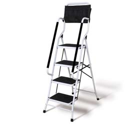 Support Plus Folding 4-Step Safety Step Ladder