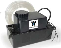 WaterAce WACND Condensate Pump, Black